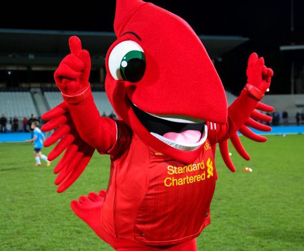 Liverpool Mascot Tears Hamstring - Soccer on Sunday