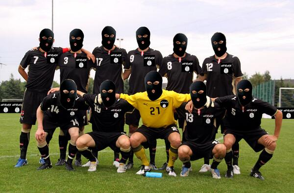 ISIS Enter FIFA Rankings in 205th Place