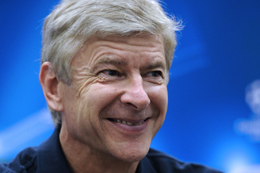 Wenger Laughing
