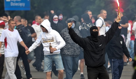 Image result for Russian hooligans