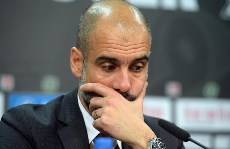 Guardiola in meltdown