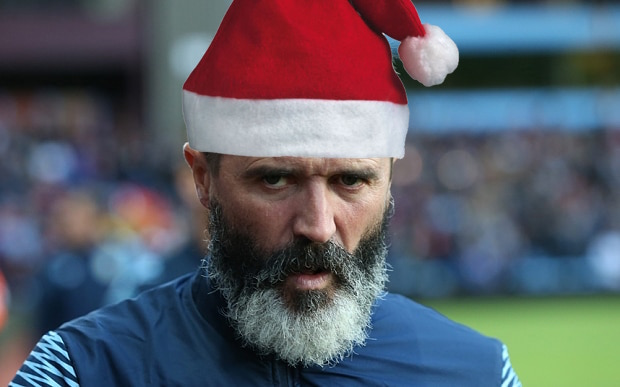 Roy Keane with Hat