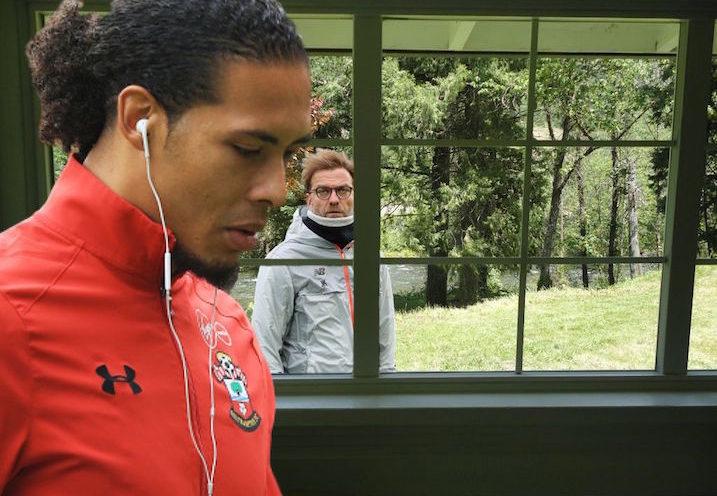 Klopp and Van Dijk