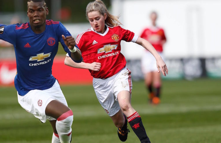 Pogba against Ladies