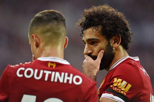 Coutinho and Salah