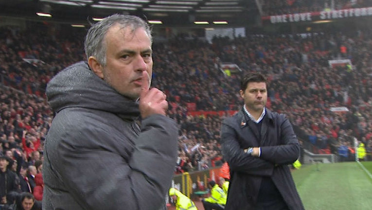 Mourinho shush