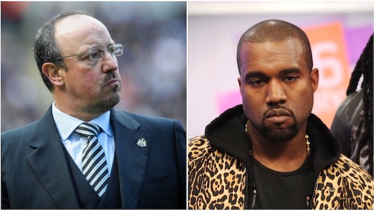 Kanye West and Benitez