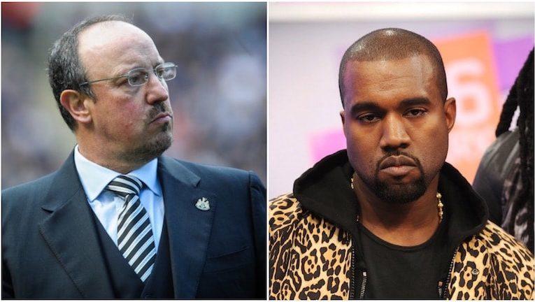 Kanye West and Benitez