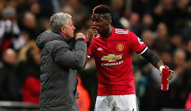 Mourinho argument with Paul Pogba