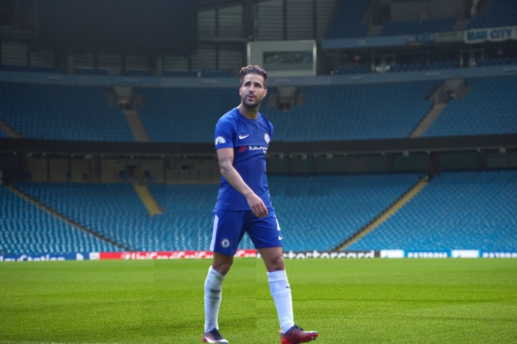 Fabregas at Etihad