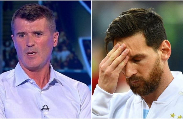 Keane and Messi