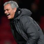 Mourinho laughing