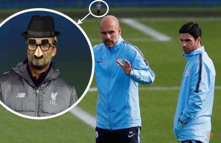 Klopp spying on Pep