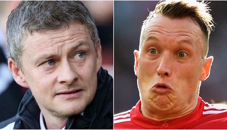 Solskjaer and Jones