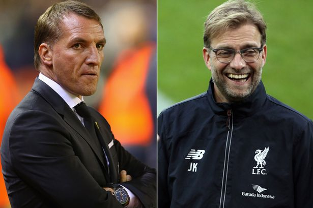 Rodgers and Klopp