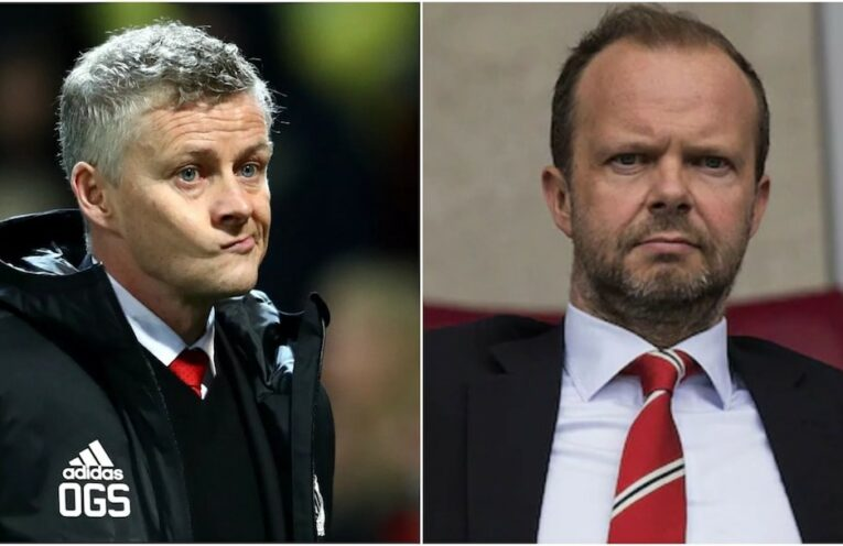 Solskjaer and Woodward