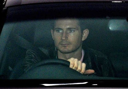 Lampard driving