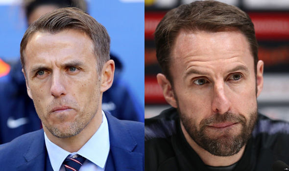 Southgate and Neville