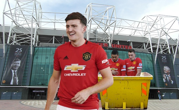 Maguire, Jones and Smalling