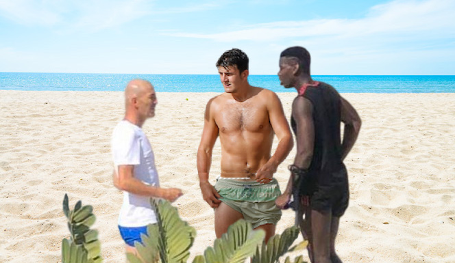 Maguire, Zidane and Pogba