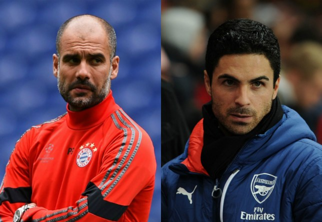 Pep and Arteta